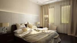 3D-визуализация спальни, Павлово - 1