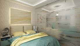 Спальня морской тематики