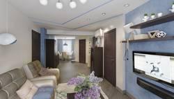 Потолок гостиной-столовой, Проспект Мира
