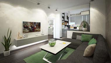 Дизайн трехкомнатной квартиры, ЖК Некрасовка-Парк