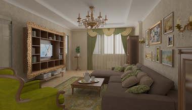Перепланировка четырехкомнатной квартиры | четырехкомнатная квартира
