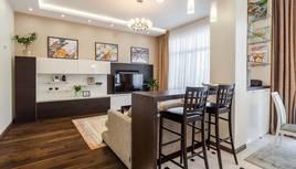 Фото гостиной после ремонта, Павлово - 1