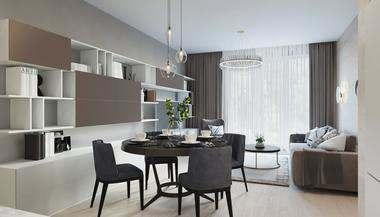 Проект 3-комнатной квартиры 110 кв. м. в Раменках