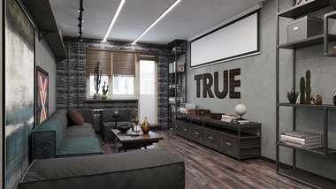 Проект двухкомнатной квартиры серии П-44, м. Кузьминки