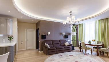 Дизайн двухкомнатной квартиры 102 кв.м., ЖК «Авеню 77», Чертаново