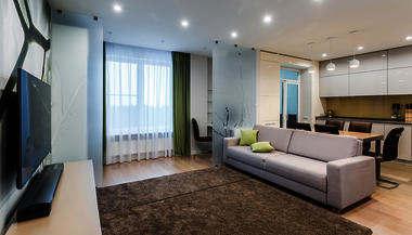 Дизайн трехкомнатной квартиры 86 кв.м. в Зеленограде