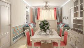 Два дивана напротив друг друга в интерьере квартиры И-155 - 2