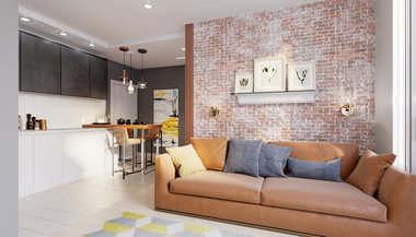Дизайн двухкомнатной квартиры в Химках, ЖК «Московская, 21»