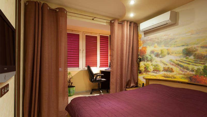 Дизайн спальни 9 кв.м. - 1