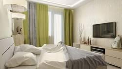 интерьер спальни в современном стиле - сочетание цветов