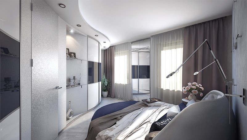 Дизайн спальни 15 кв.м. - 1