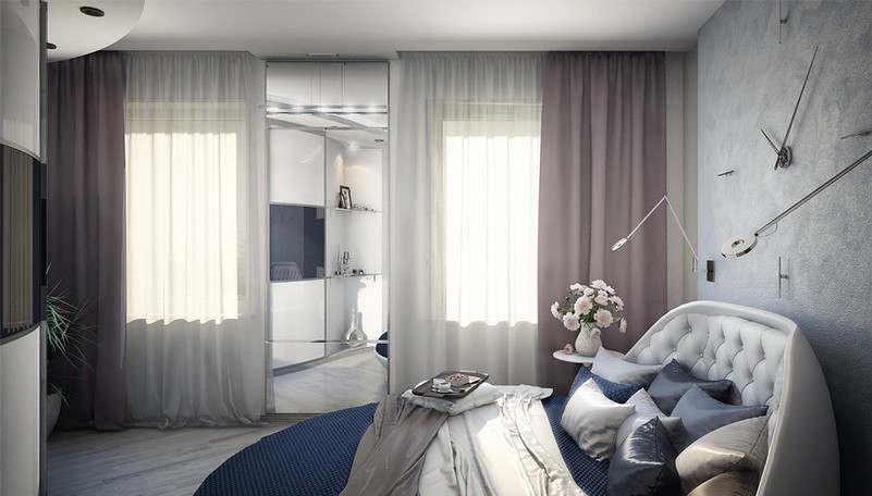 Дизайн спальни 15 кв.м. - 2