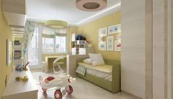 Дизайн комнаты для мальчика с расчетом на второго ребенка