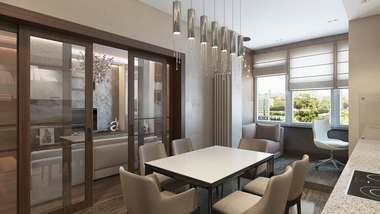 Дизайн двухкомнатной квартиры в ЖК «Розмарин»
