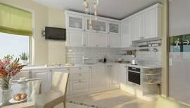 дизайн угловой кухни в квартире на м. Свиблово