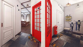 Дверь в английском стиле
