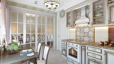 Дизайн двухкомнатной квартиры, ЖК «Отрада»