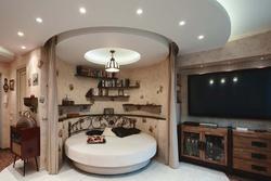 Фото дизайна гостиной в 1-комнатной квартире