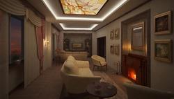 Дизайн вытянутой комнаты
