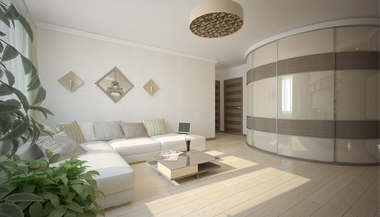 Дизайн квартиры, Солнцево Парк | Перепланировка трехкомнатной квартиры