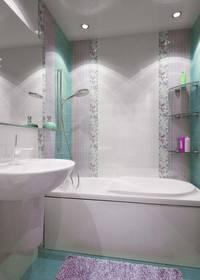 дизайн ванной комнаты в хрущевке - 2