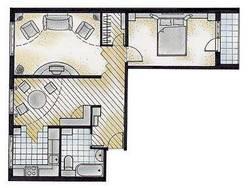 Перепланировка трехкомнатной квартиры II-49