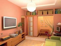 дизайн однокомнатной квартиры с детской, InHomes