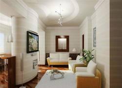 Перепланировка коммунальной квартиры, обустройство гостиной