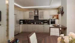 Дизайн кухни-гостиной в ЖК Богородский