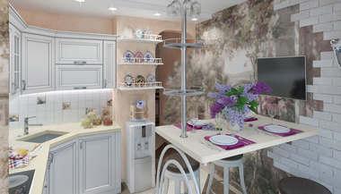 Дизайн 2-комнатной квартиры П 3М, перпланировка