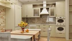 Дизайн линейной кухни И-155