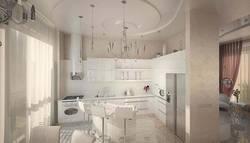 Дизайн островной кухни в п. Покровский
