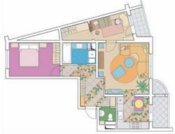 Перепланировка 3-х комнатной квартиры П-111М