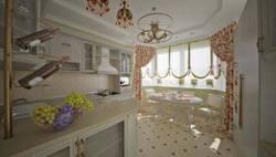 Дизайн интерьера кухни П-44Т