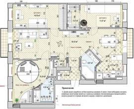 Перепланировка квартир - объединение