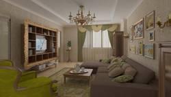Дизайн штор для гостиной с ламбрекенами