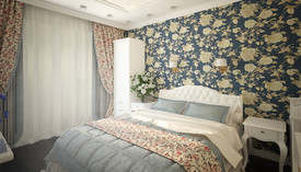 Спальня в стиле Прованс, ЖК Скай Форт