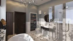 дизайн туалетной комнаты в современном стиле