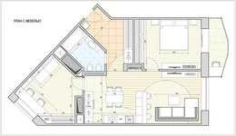 Перепланировка 3 комнатной квартиры