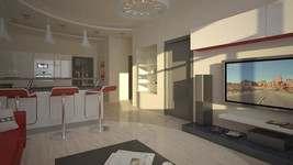 Дизайн 3 комнатной квартиры, Куркино