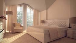 Дизайн интерьера спальни в таунхаусе