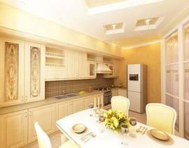 дизайна бежевой кухни своими руками