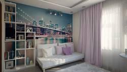 Интерьер спальни для девушки в ЖК Гусарская Баллада
