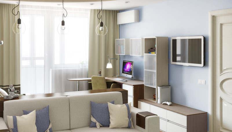 Дизайн детской в 1-комнатной квартире - 2