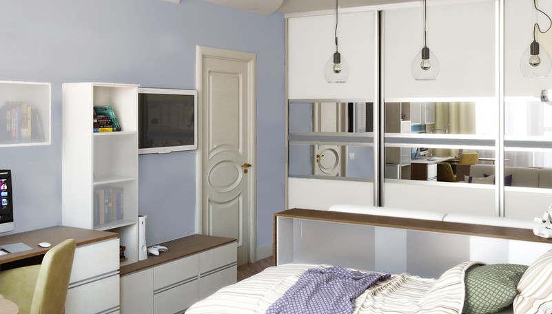 Дизайн детской в 1-комнатной квартире - 3