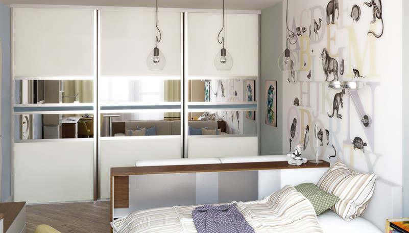 Дизайн детской в 1-комнатной квартире - 4