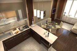 Дизайн кухни в хрущевке - 1