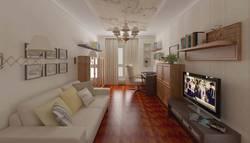 Дизайн кабинета 18 кв.м.