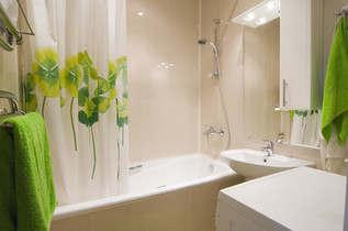 интерьер маленькой ванной комнаты в картинках - 1