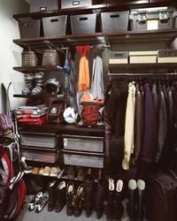 Дизайн гардеробной комнаты - подсобного помещения